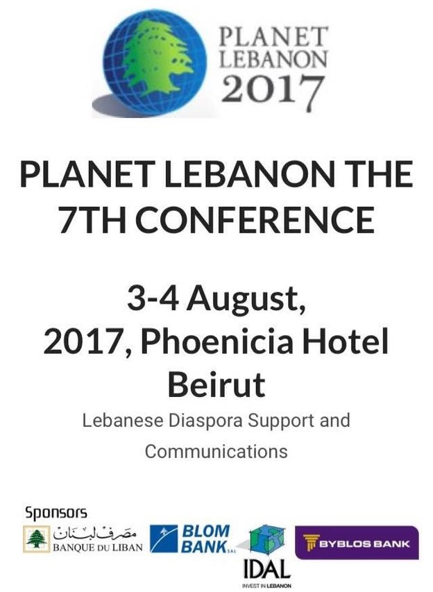 LIBC to hold its 7TH Annual Planet Lebanon Conference August 3-4: