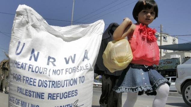 UNRWA-flour