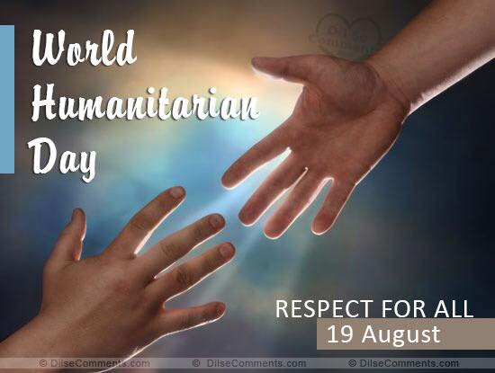 "AHRC observes today, August 19  ""World Humanitarian Day 2018″"