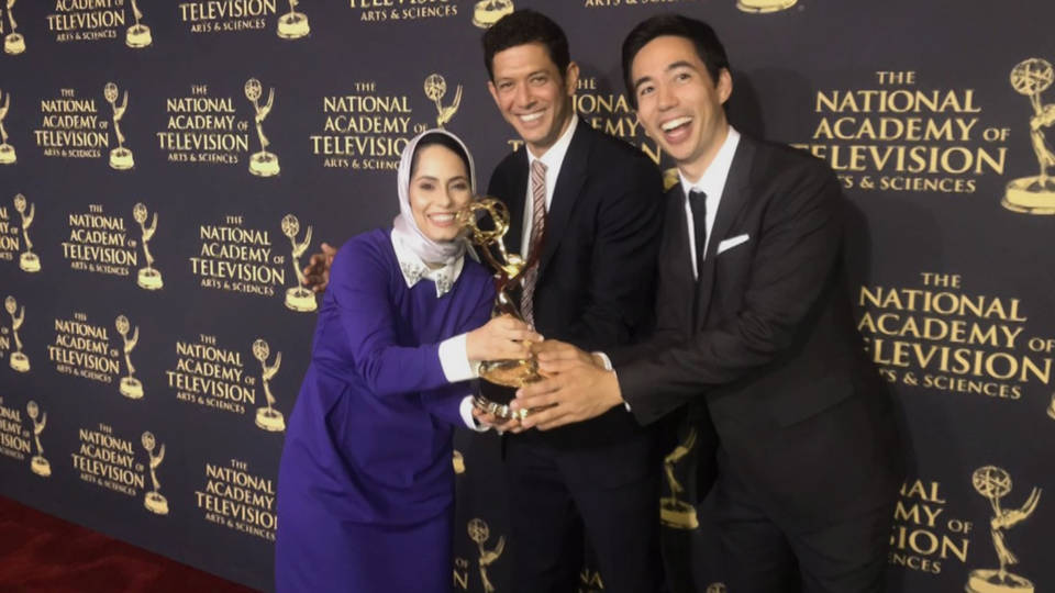 AHRC: Salute & Congratulations to Ms. Laila Al Arian for winning the Emmy Award.  Well-Deserved Award