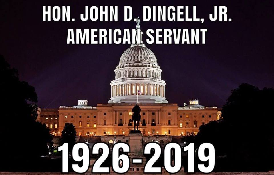 AHRC mourns the passing of former Congressman John Dingell, true American hero: